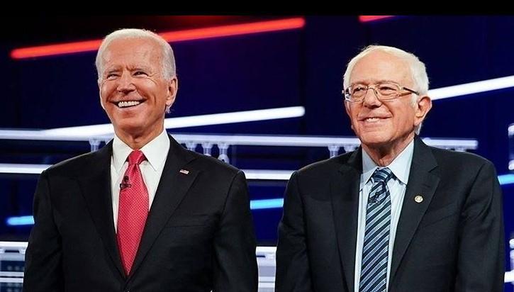 "<p>Джо Байден и Берни Сандерс. Фото © Instagram/ <a href=""https://www.instagram.com/p/B-7oW5qlYnX/"" target=""_blank"" rel=""noopener noreferrer"">Joe Biden</a></p>"