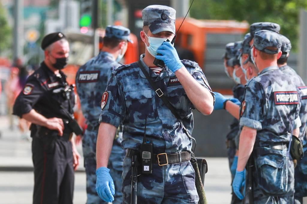 Росгвардия пресекла беспорядки в парке Горького