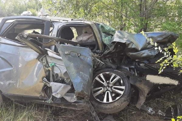 Число жертв лобового столкновения BMW и Lada под Самарой возросло до пяти