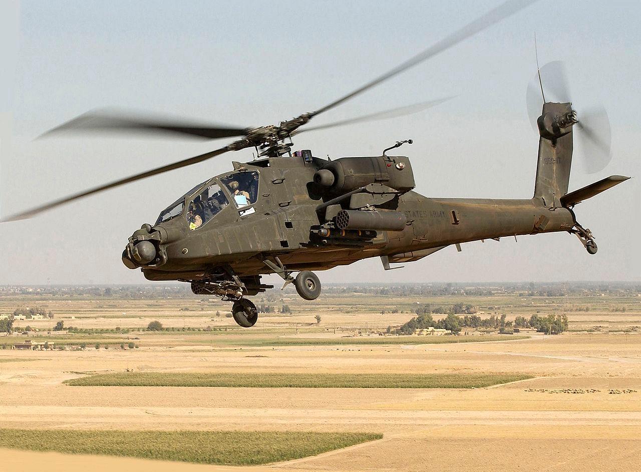 СМИ: Девять военных вертолётов США прибыли в Литву для участия в учениях