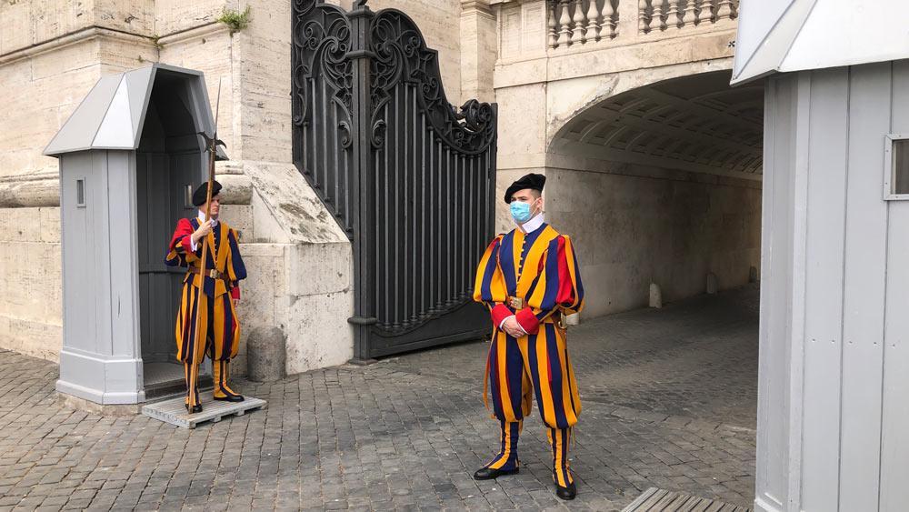 Фото © ТАСС / Ватиканская жандармерия