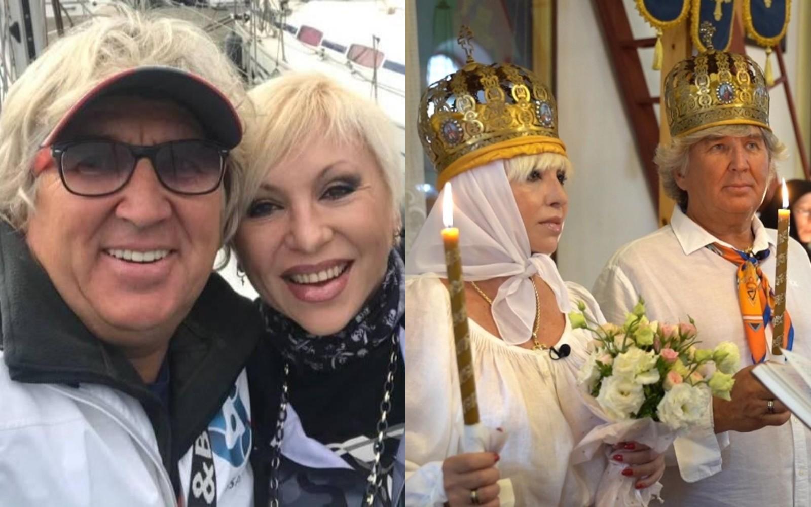 Валентина Легкоступова с мужем Юрием Фирсовым. Фото © Instagram / firsov_yury