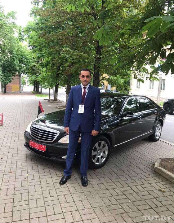 Пострадавший дипломат. Фото © TUT.by