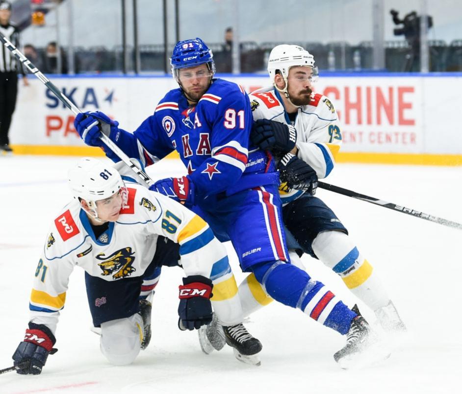 Фото © Twitter / Хоккейный клуб СКА