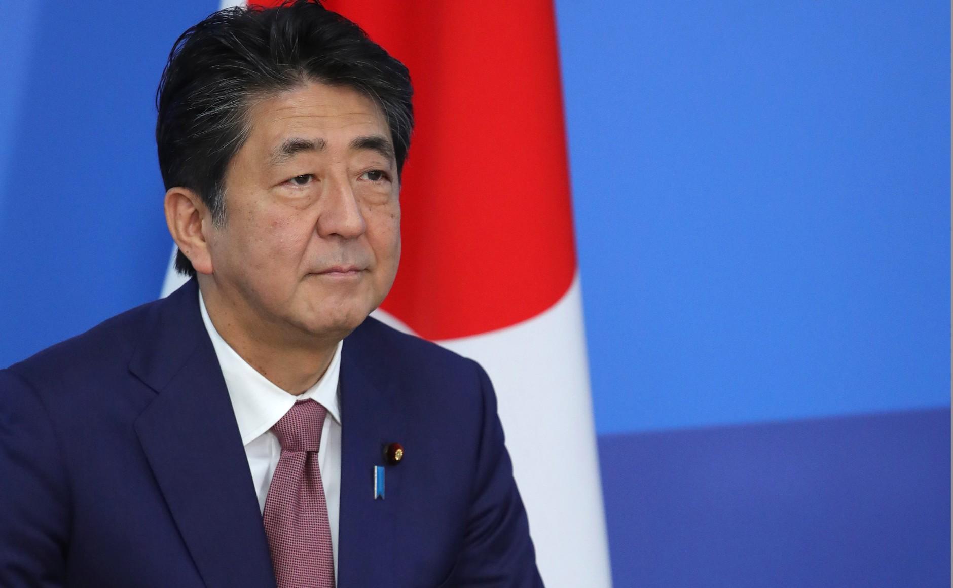 <p>Премьер-министр Японии Синдзо Абэ. Фото © Kremlin</p>