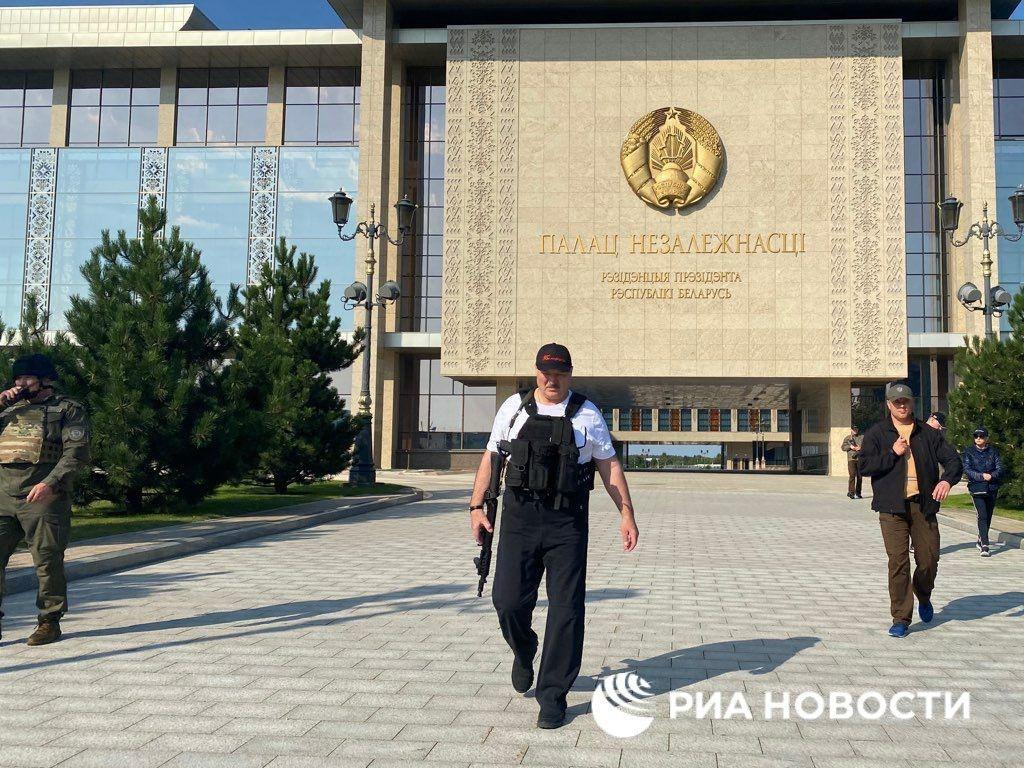"Александр Лукашенко. Фото © РИА ""Новости"""