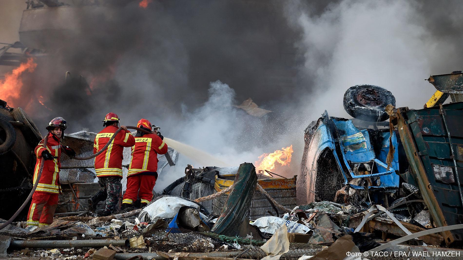 <p>Фото © ТАСС / EPA / WAEL HAMZEH</p>