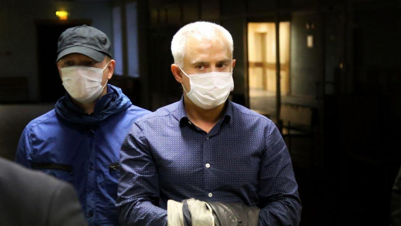 Задержание депутата Заксобрания Петербурга Коваля. Фото ©fontanka.ru