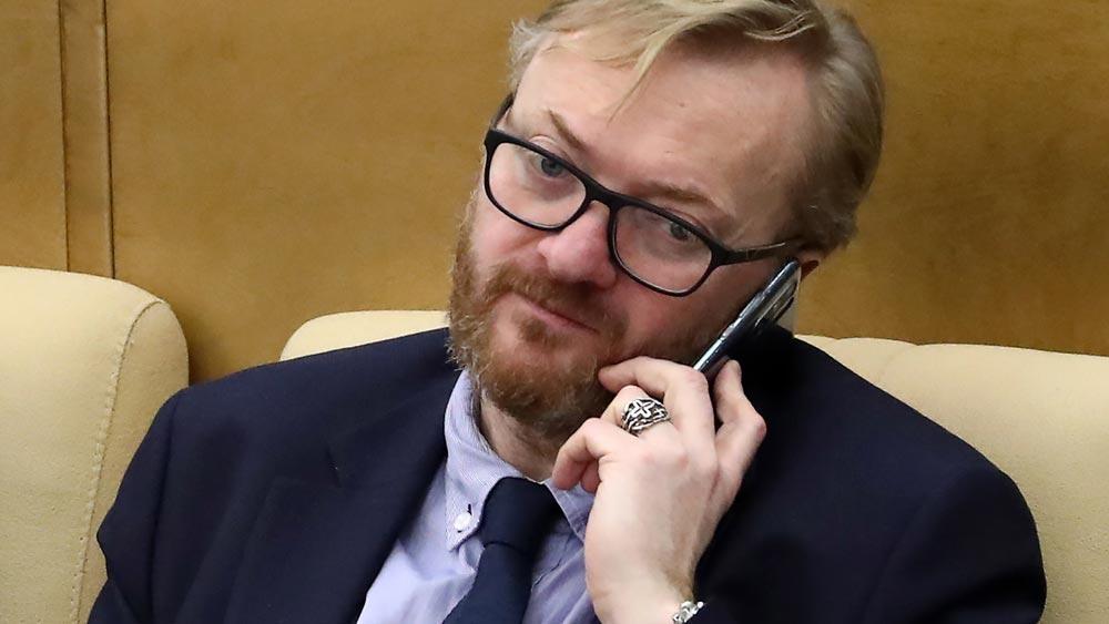 Депутат Госдумы Виталий Милонов. Фото ©ТАСС / Новодережкин Антон