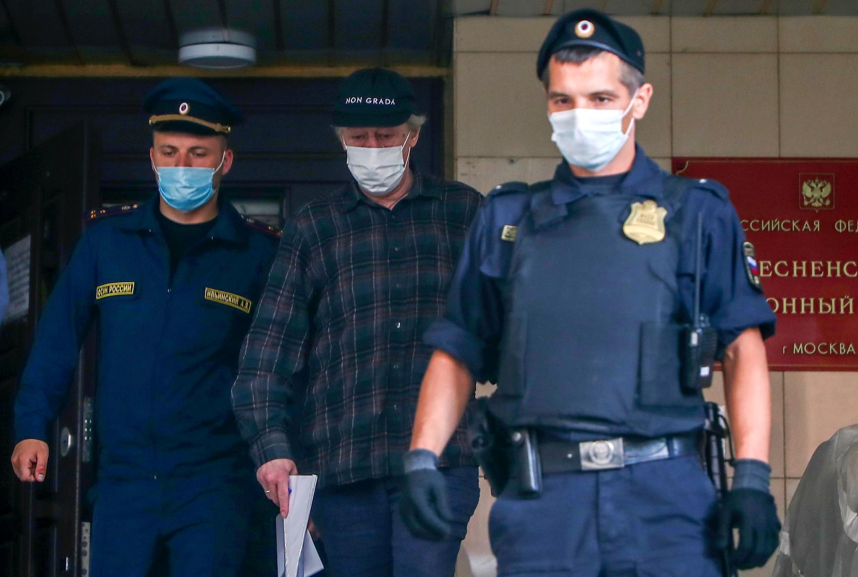 Допрос Ефремова в суде по делу о смертельном ДТП может пройти 11 августа