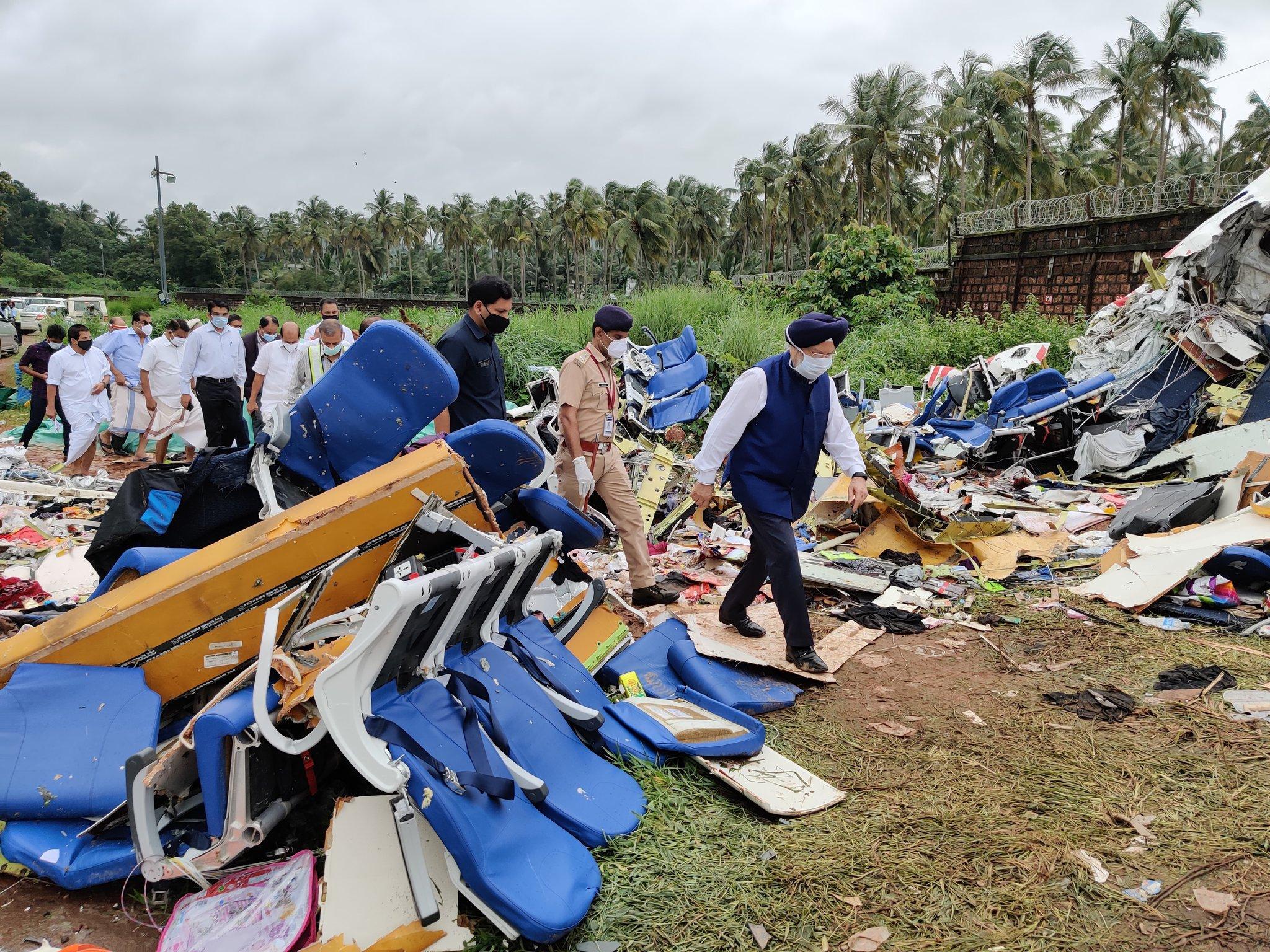 Авиакомпания выплатит родственникам погибших при крушении самолёта в Индии по $13,3 тысячи