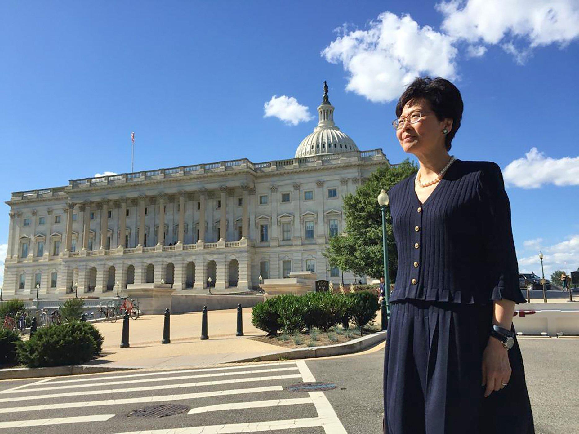 Вашингтон перепутал адрес главы администрации Гонконга в указе о санкциях