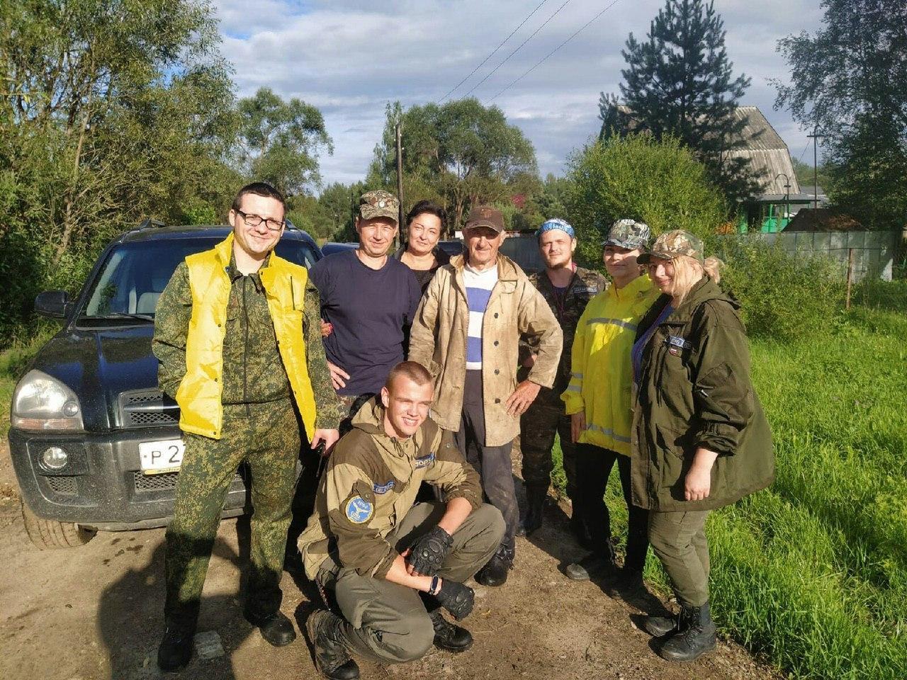 Пенсионер-десантник три дня выживал в лесу под Тверью