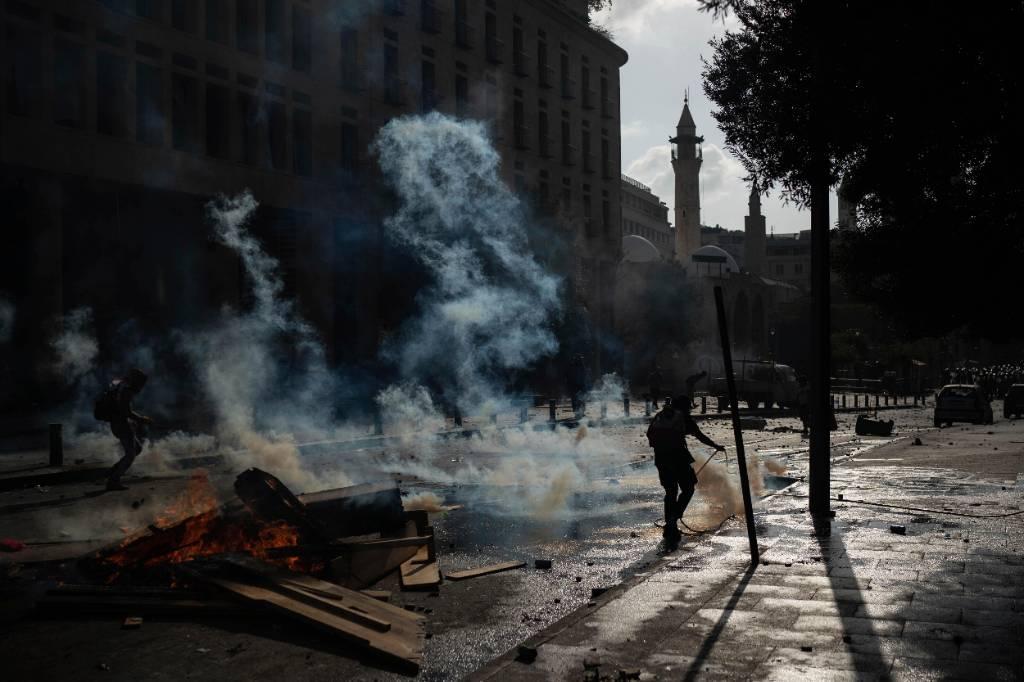 До 728 человек возросло число пострадавших в ходе протестов в Бейруте