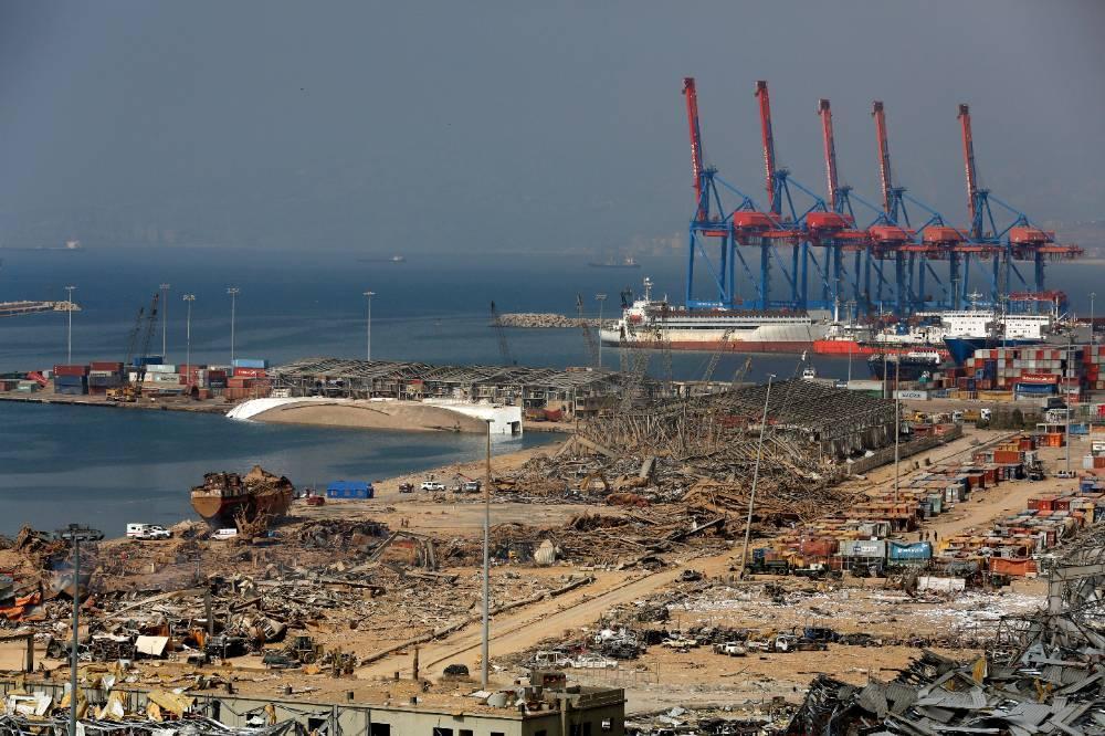 Пентагон заявил, что до сих пор не знает причину взрыва в порту Бейрута