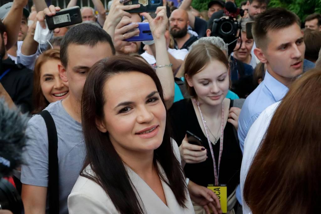 Тихановская заявила, что уверена в своей победе на выборах