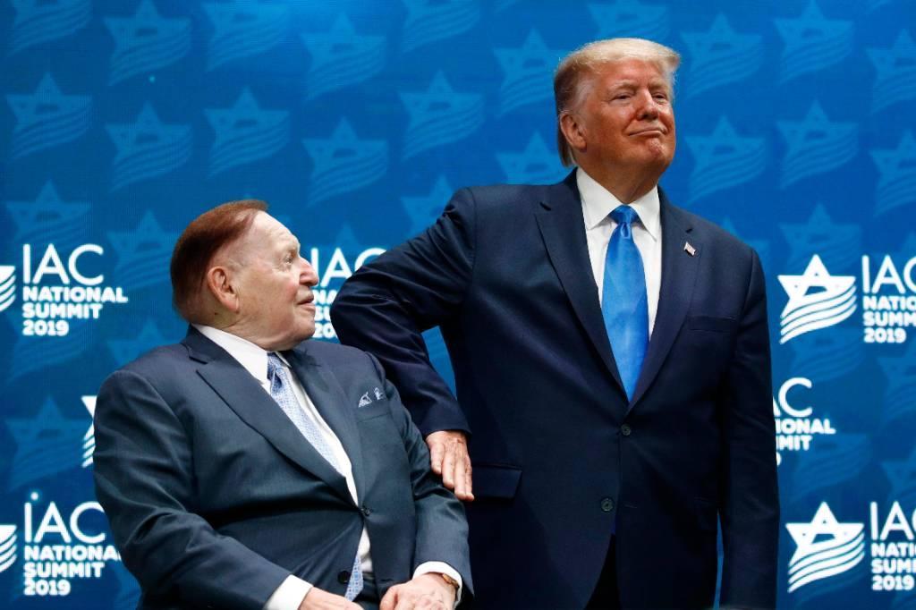 СМИ сообщили о ссоре Трампа с главным спонсором Республиканской партии
