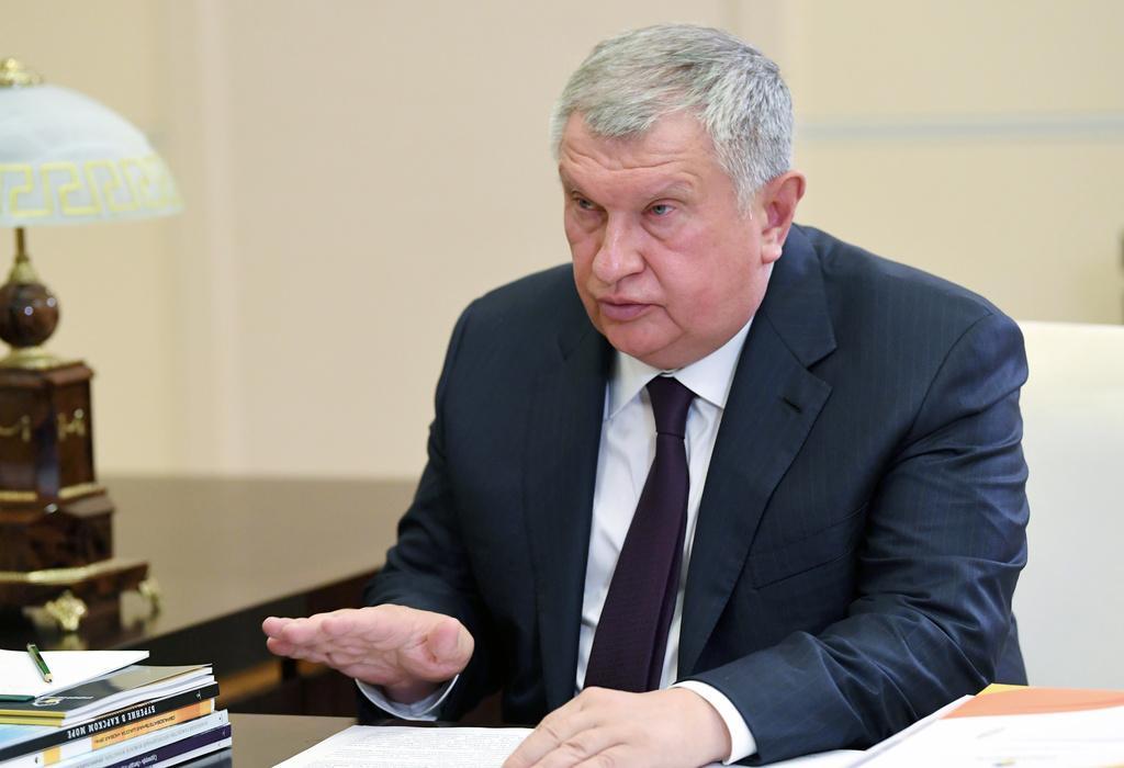 Игорь Сечин. Фото © ТАСС / Пресс-служба Президента РФ / Алексей Дружинин