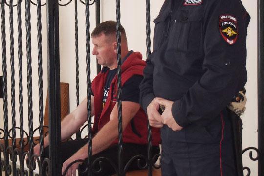 Андрей Клеманов на суде. Фото ©business-gazeta.ru
