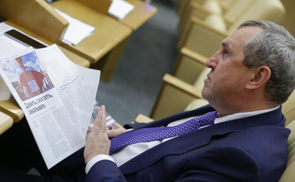 Фото © ТАСС / Анна Исакова / Пресс-служба Госдумы РФ