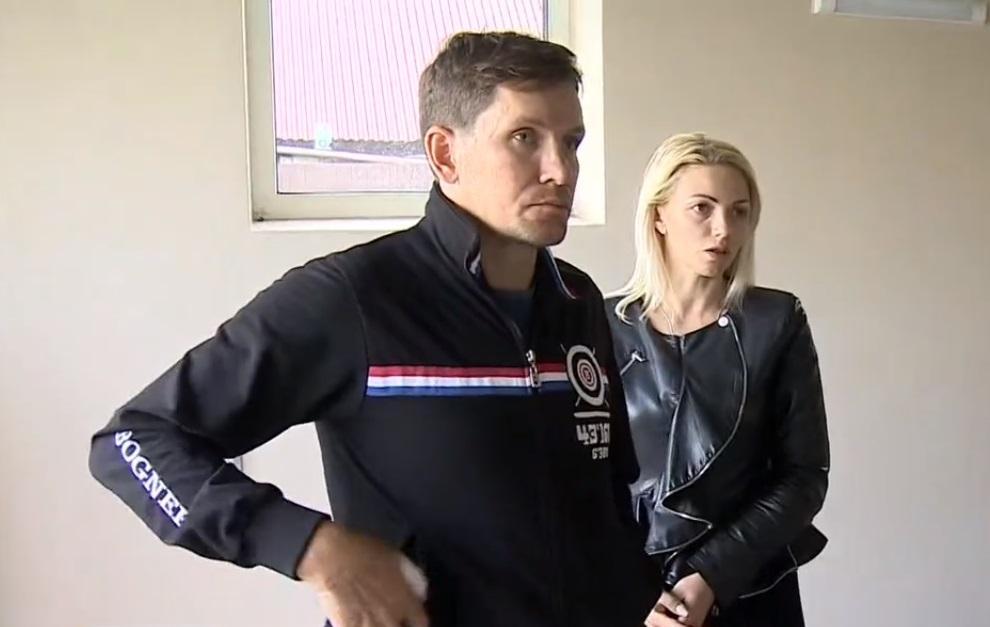 Евгений Деданин иего жена Олеся. Фото © kazanfirst.ru