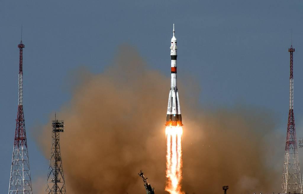 """Фото © ТАСС / Пресс-служба ГК """"Роскосмос"""""""