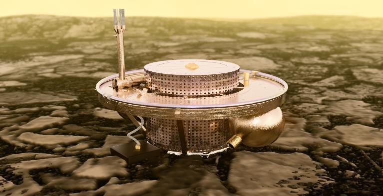 Изображение станции SAEVe на поверхности Венеры. Фото © NASA Glenn Research Center
