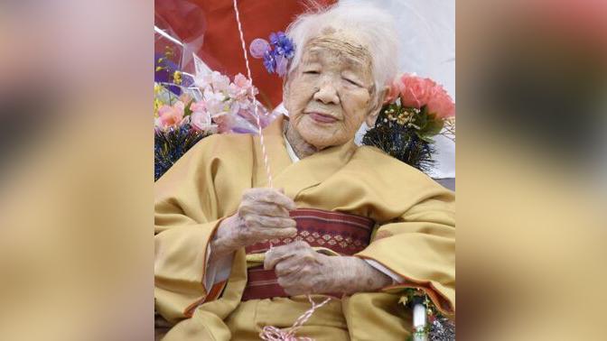 Старейшая жительница Земли побила рекорд долголетия