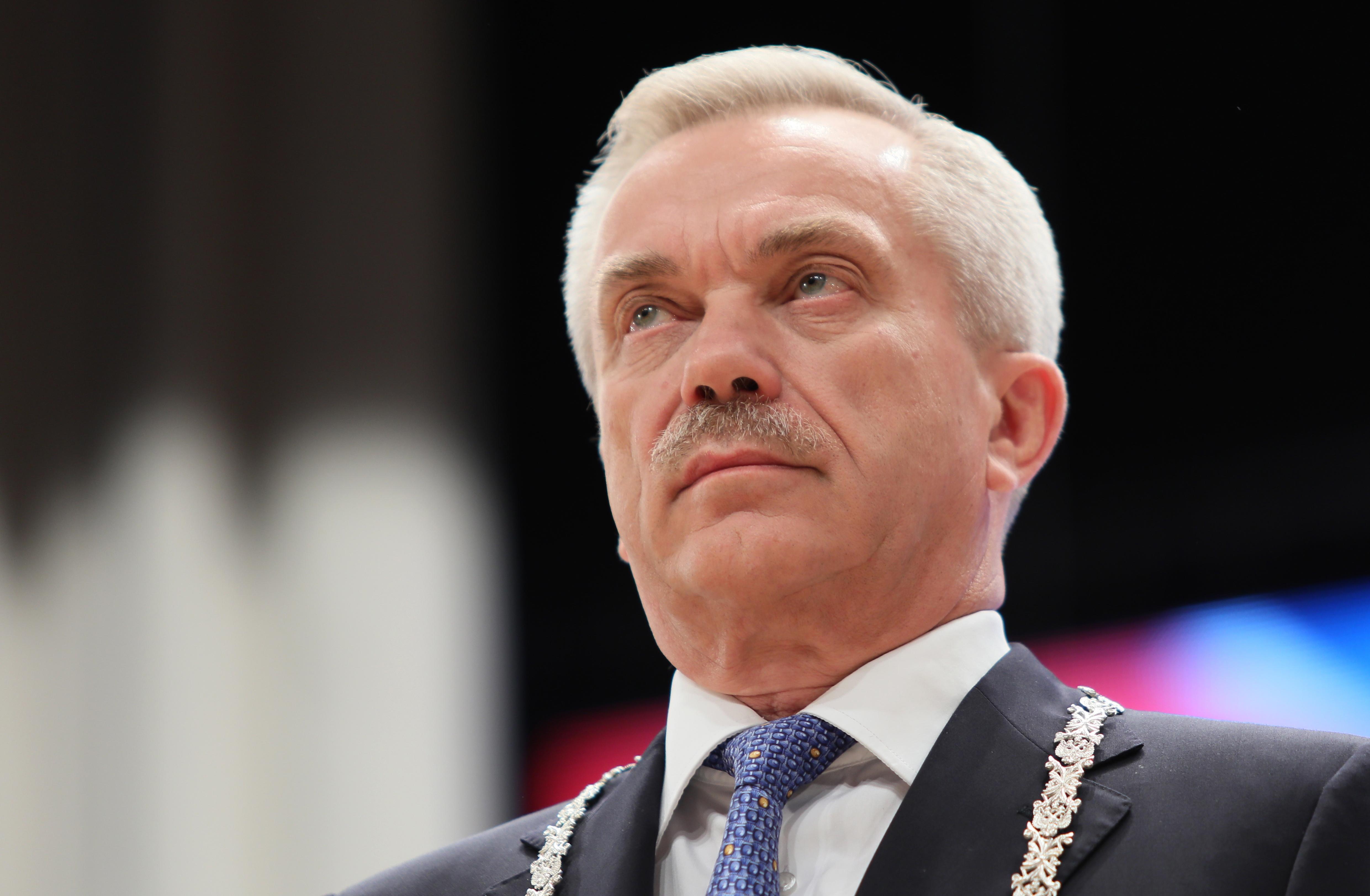 Песков: Кремль не получал прошения об отставке главы Белгородской области