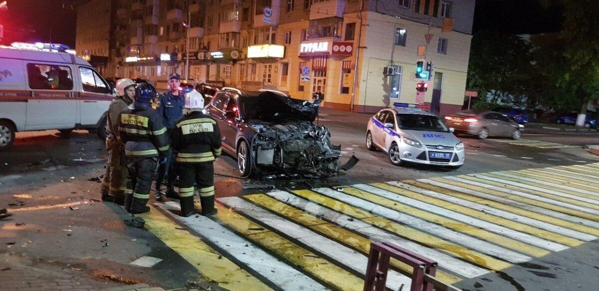 Брянский вице-губернатор ушёл в отставку из-за аварии с участием сына