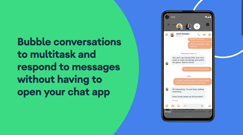 Диалоги из всех мессенджеров открываются в отдельном окне, как у Facebook Messenger. Вы и ответите на сообщение, и не отвлечётесь от других дел. Фото © Кадр из видео YouTube / Android