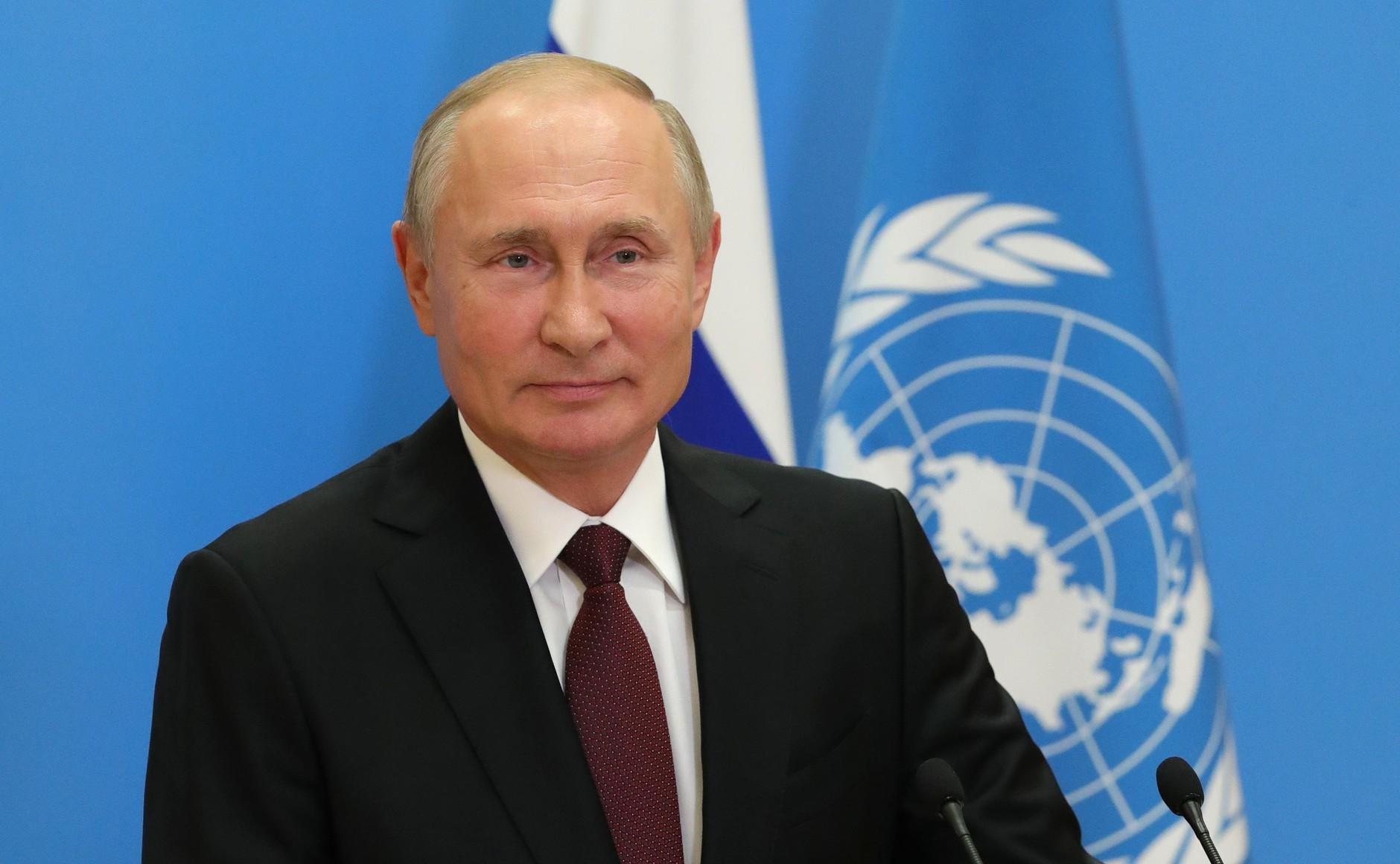 Путин призвал ввести глобальный запрет на размещение оружия в космосе
