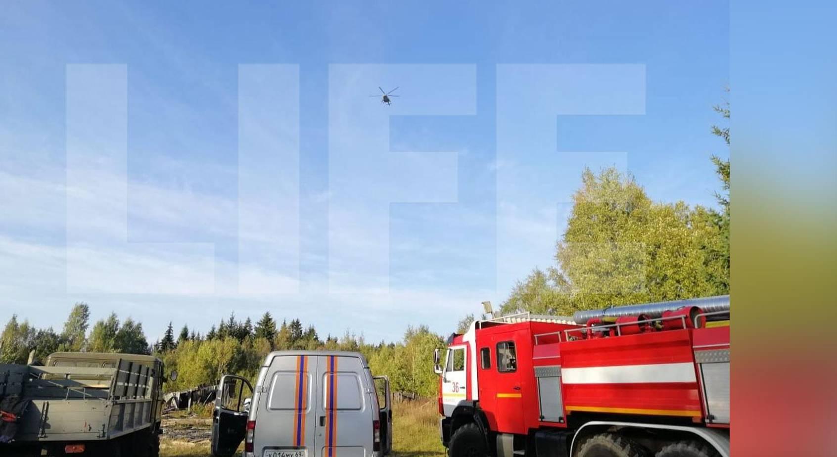 Обломки рухнувшего в Тверской области истребителя Су-30 не могут найти