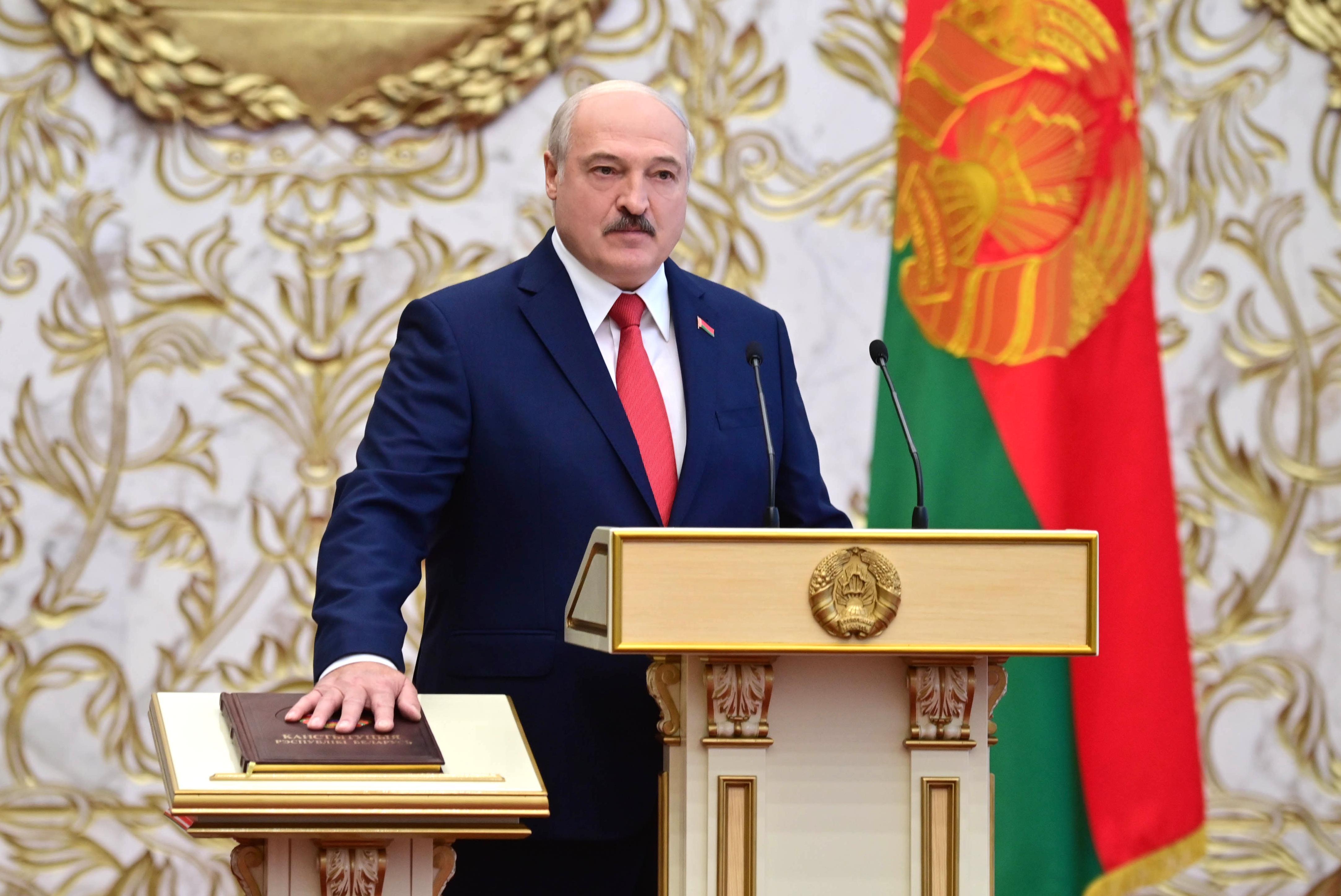 Минюст Белоруссии ответил на сомнения в законности тайной инаугурации Лукашенко