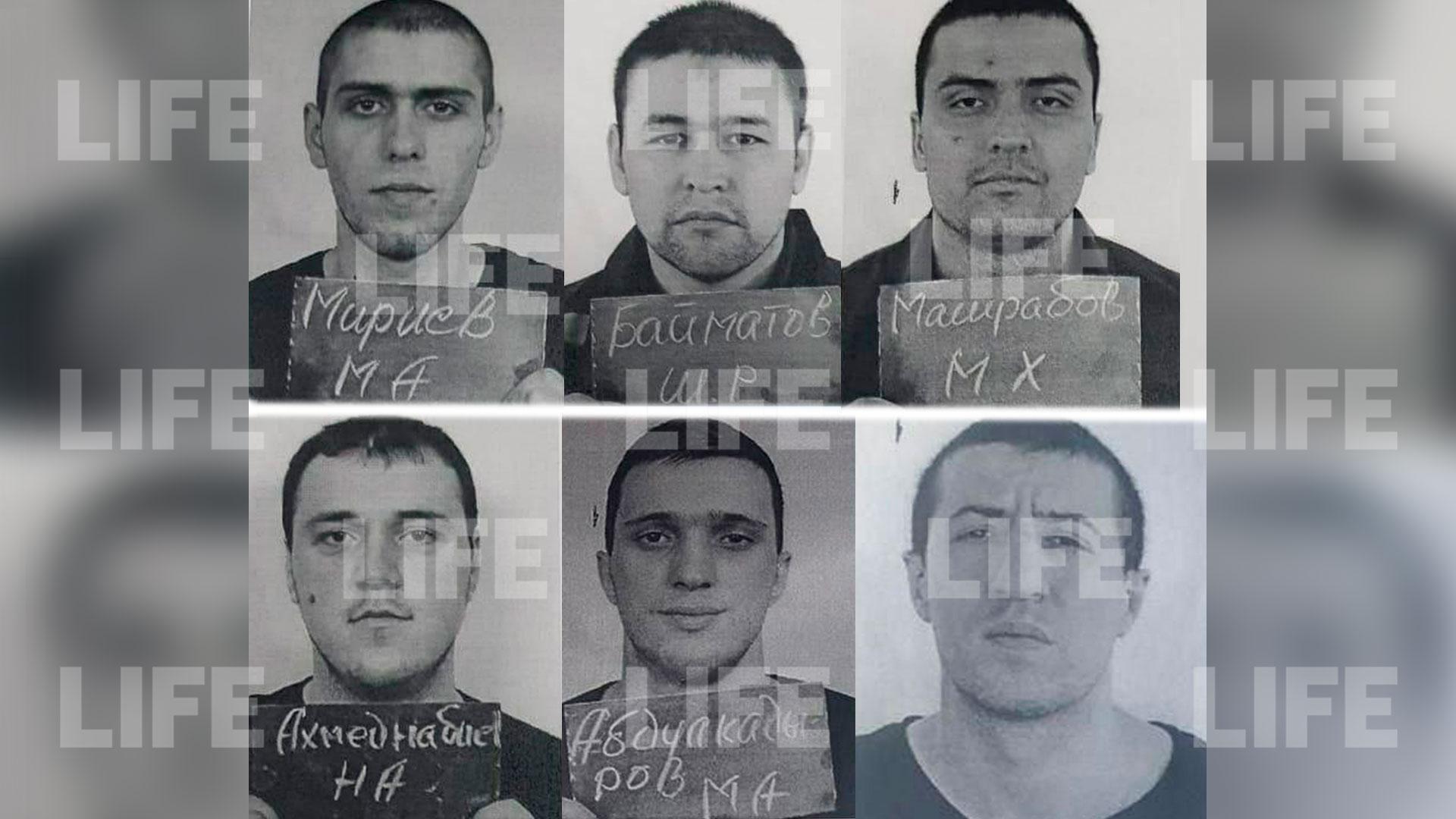 Лайф публикует ориентировки на шестерых беглецов из дагестанской колонии