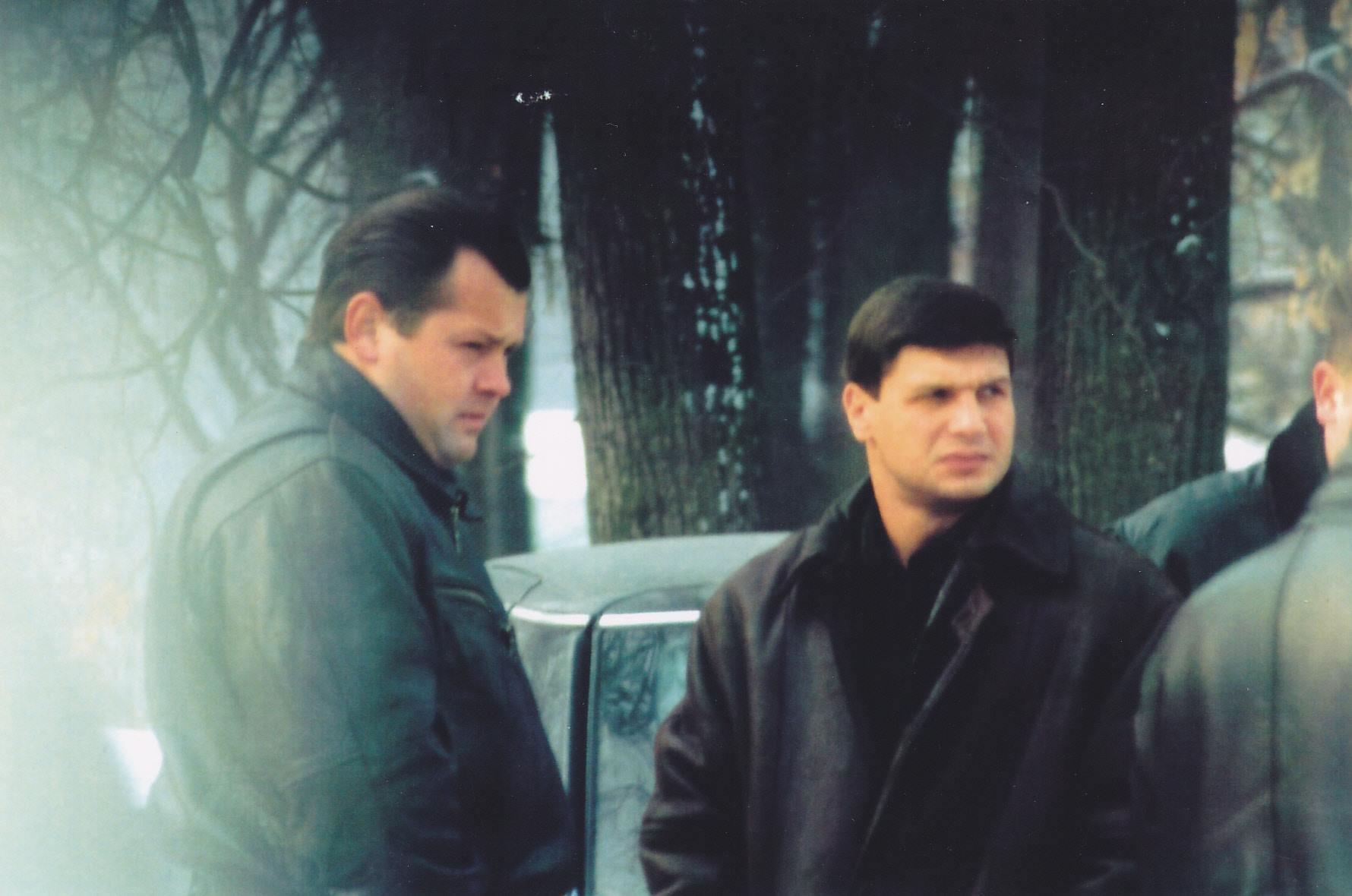 Александр Шарапов (Шарап) и Андрей Пылев (Малой). Фото © Facebook / Алексей Шерстобитов