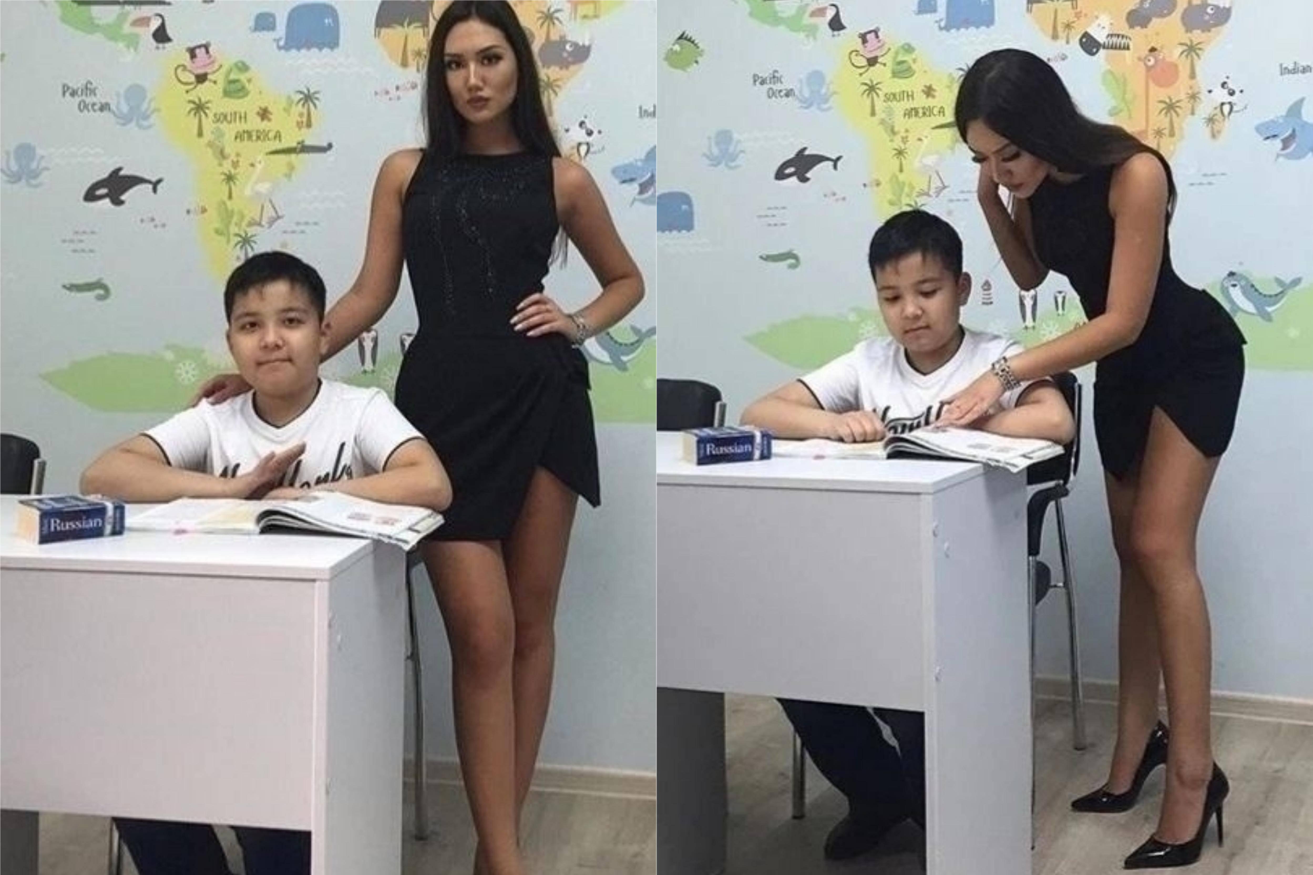 Фото этой учительницы из Караганды покорили даже зарубежные СМИ, но правда их сильно разочаровала