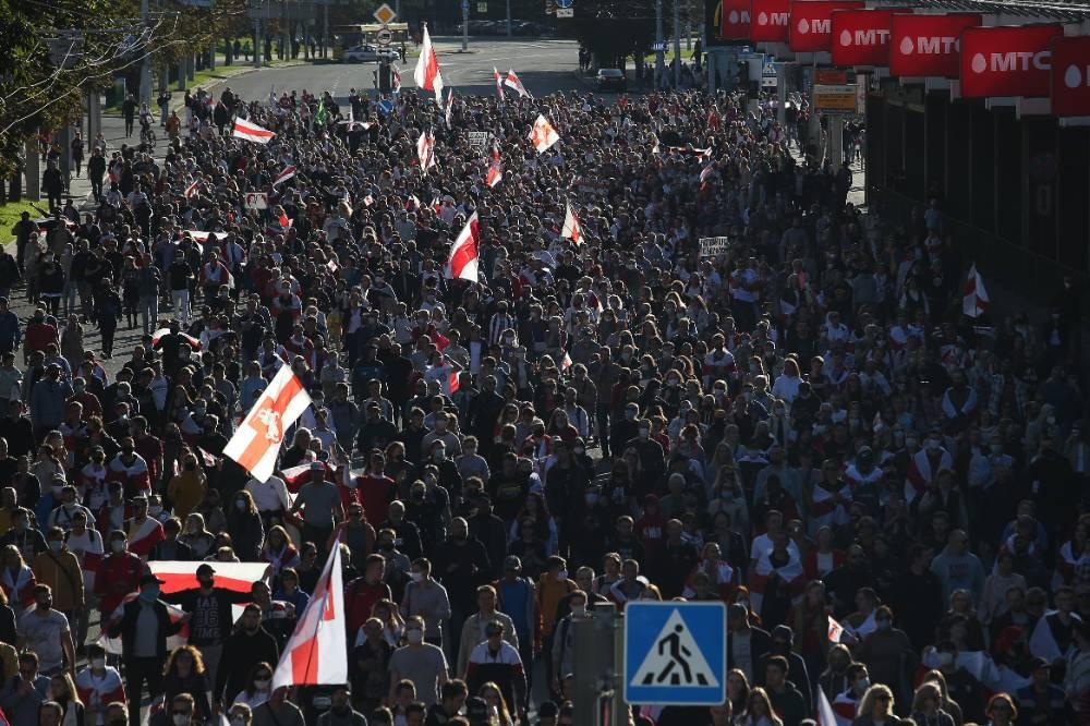 В Минздраве Белоруссии обвинили протестующих в росте числа случаев CoViD-19