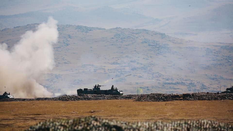 В Армении сообщили об уничтожении двух азербайджанских вертолётов в Карабахе
