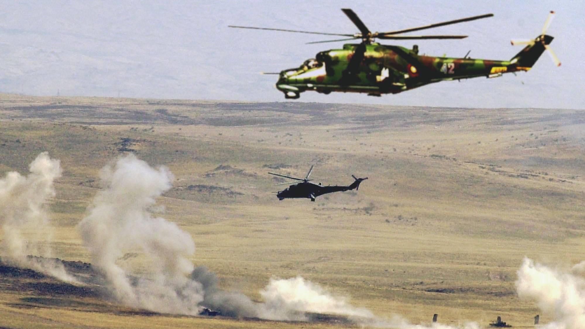 Армения заявила об уничтожении уже четырёх вертолётов Азербайджана