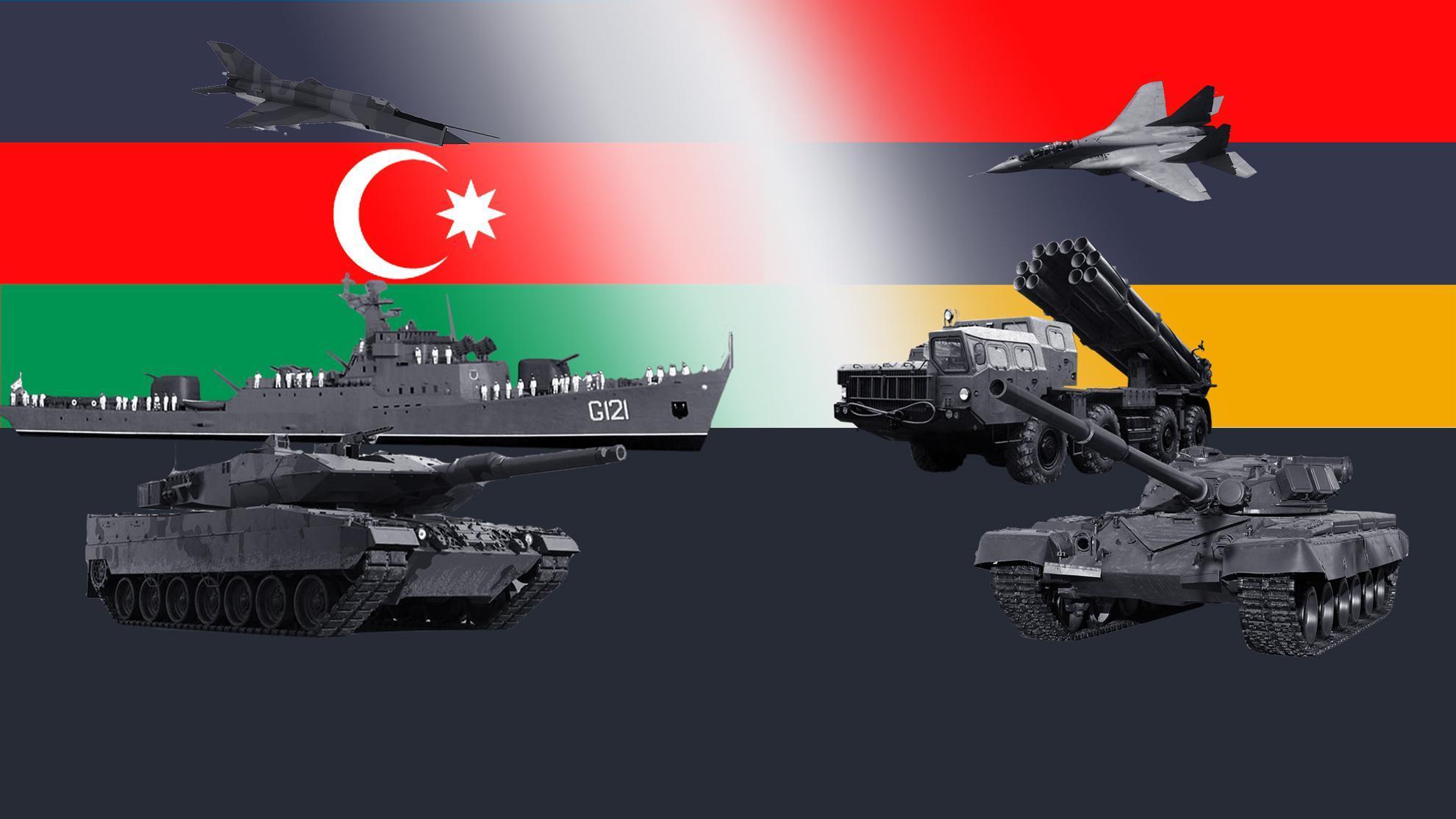 Бои за Нагорный Карабах. Сравним армии Армении и Азербайджана