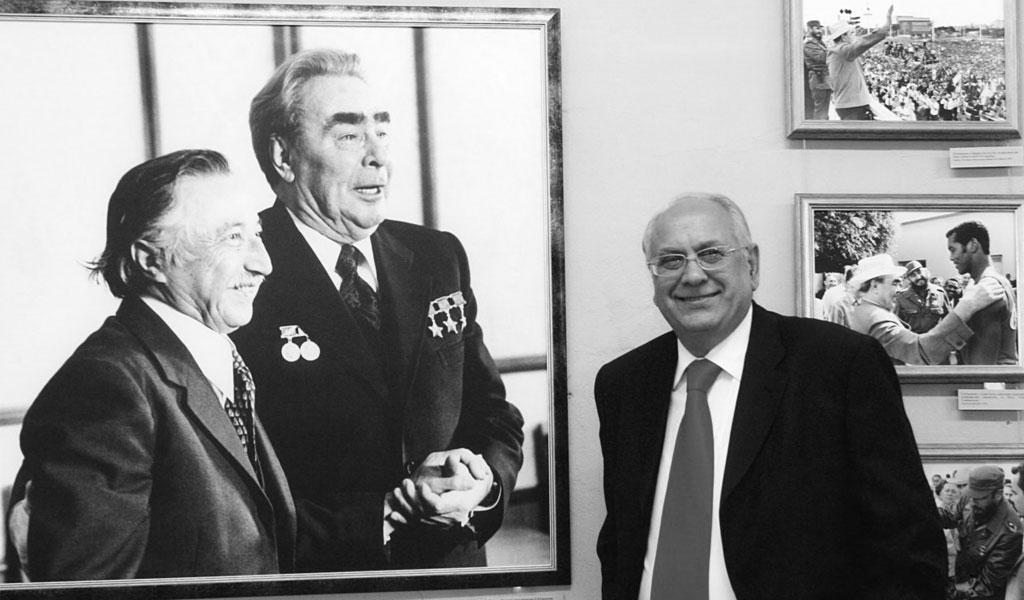 Скончался личный фотограф Брежнева Владимир Мусаэльян