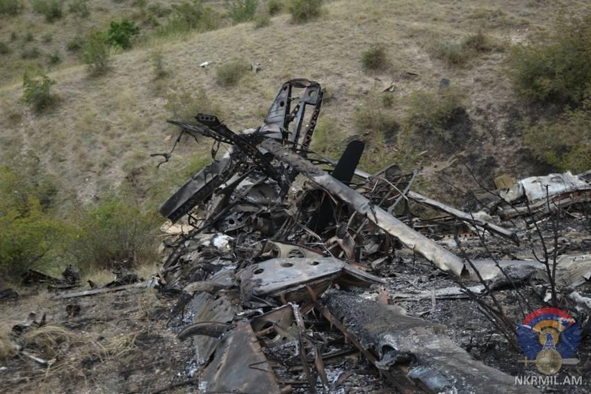 Минобороны Нагорного Карабаха показало новые фотографии потерь Азербайджана