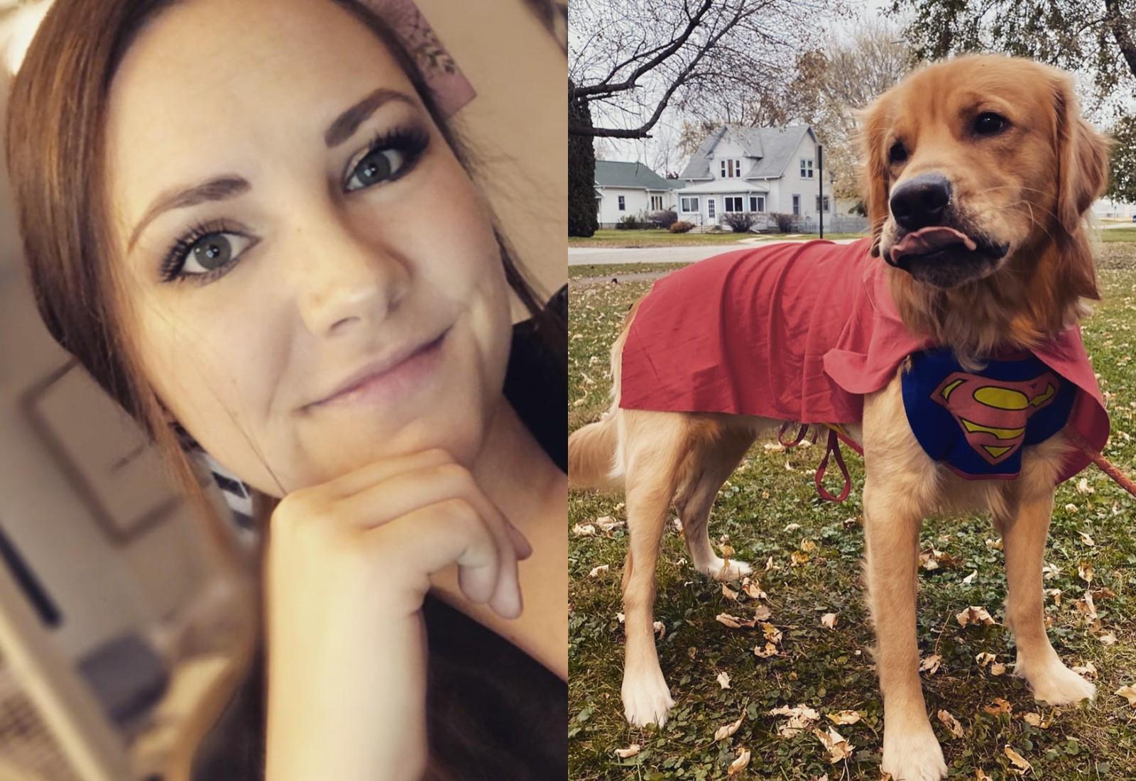 Пёс спас свою хозяйку и уложил в кровать, когда она вернулась домой навеселе — видео