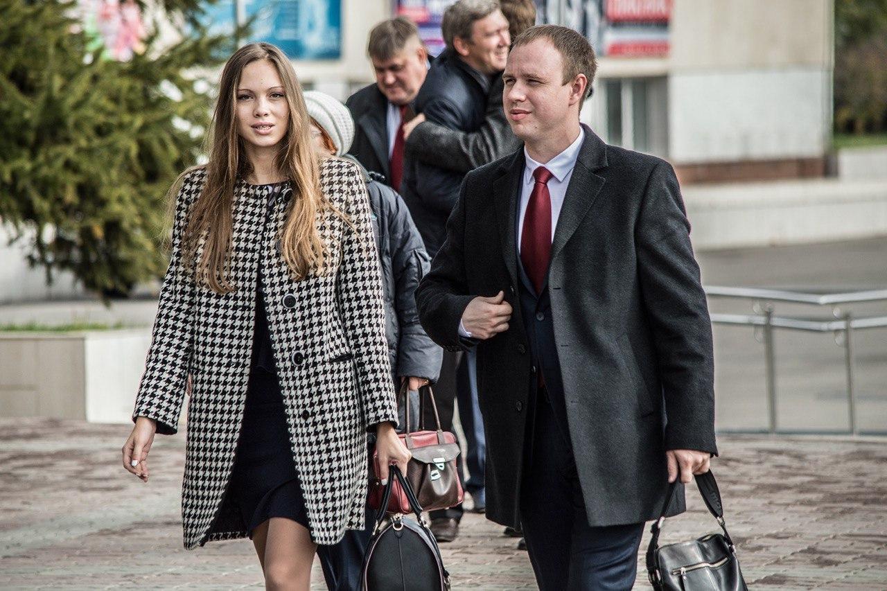 Андрей Левченко и его бывшая девушка Мария Давыдова. Фото © Babr24