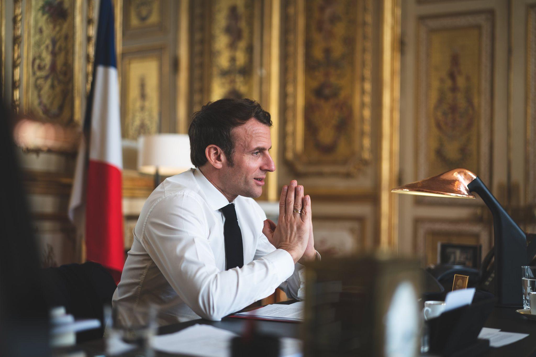"<p>Фото © Facebook / <a href=""https://www.facebook.com/EmmanuelMacron/photos/a.1536815099884404/2715129432052959"" target=""_blank"" rel=""noopener noreferrer"">Emmanuel Macron</a></p>"