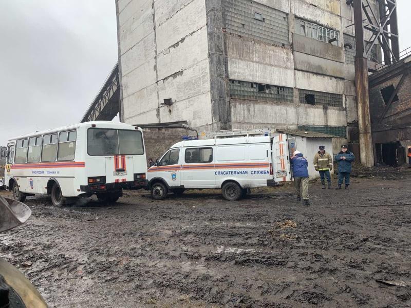 Два человека погибли в Коми при обрушении на шахте