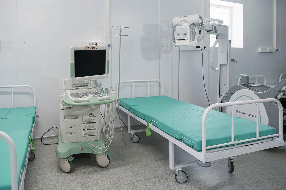 В Минздраве назвали число занятых коек для пациентов с CoViD-19