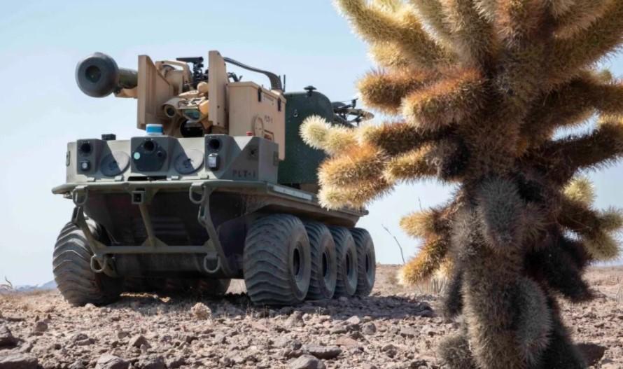 Армейские роботы США отработали уничтожение российских танков Т-72