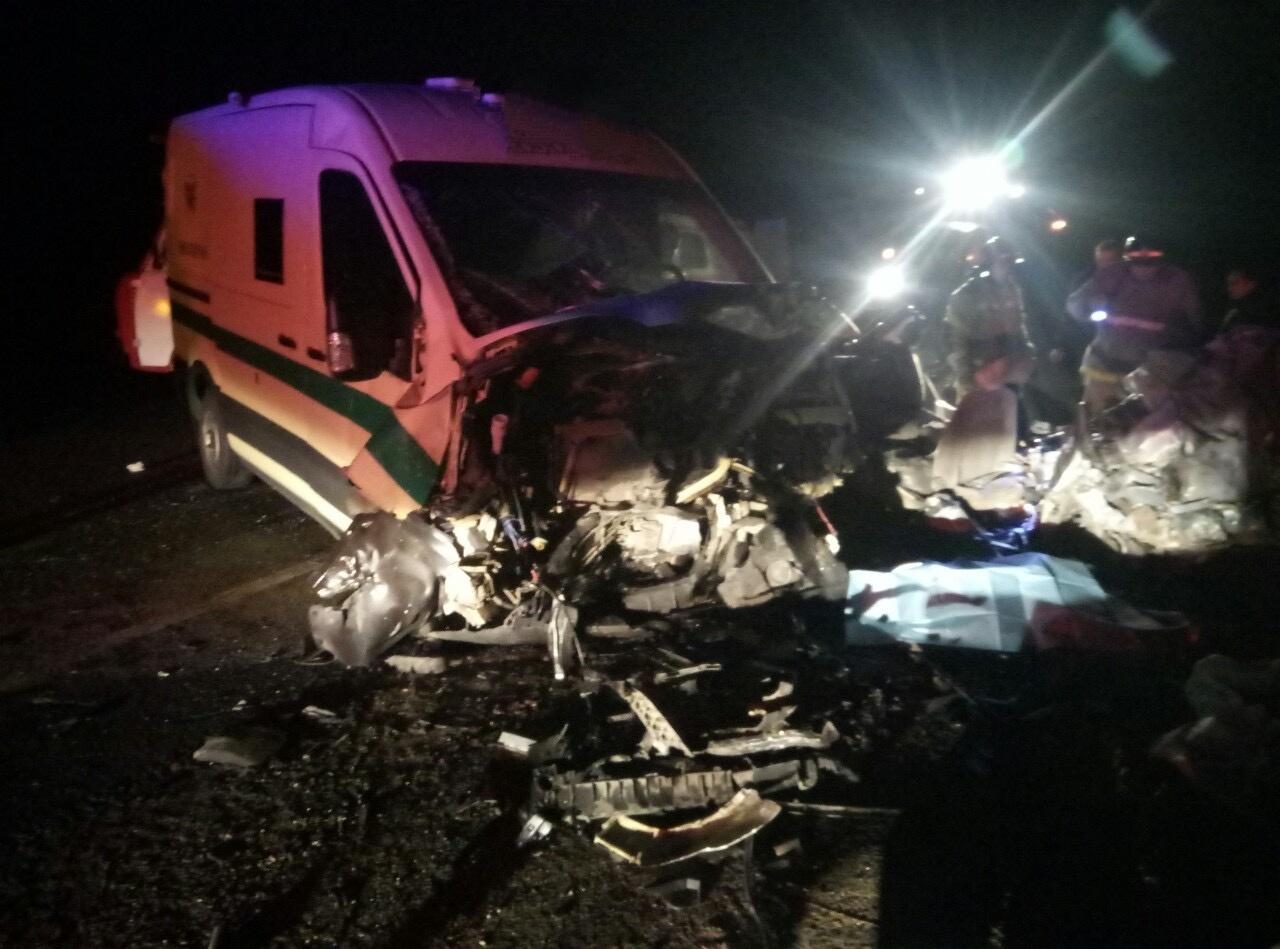 Три человека погибли в ДТП с инкассаторской машиной под Оренбургом
